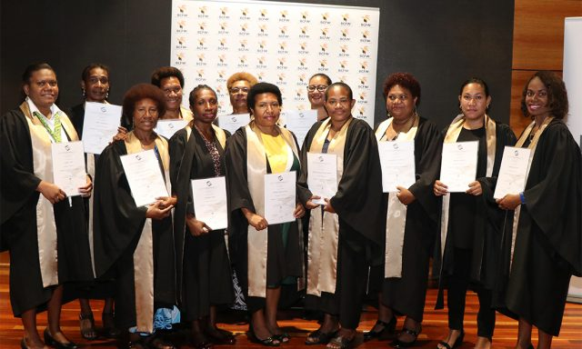 BCfW CertIV cohort 8 graduates